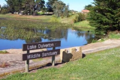 Lake Dulverton Sign