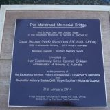 Nick Marstrand Memorial Bridge Dedication 31st January 2014 - 064